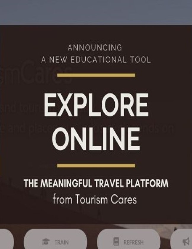 Tourism Cares Meaningful Travel
